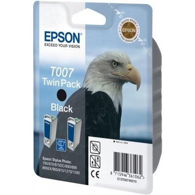 Epson C13T007402 black original ink cartridge
