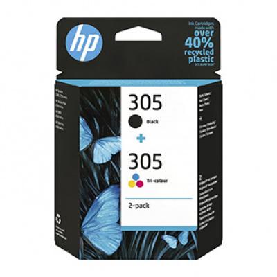 HP originální ink 6ZD17AE, HP 305, HP DeskJet 2300, DeskJet 2710, DeskJet 2720, DeskJet