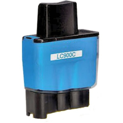 Brother LC-900C cyan compatible inkjet cartridge