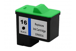 Lexmark 16 10N0016 black compatible inkjet cartridge