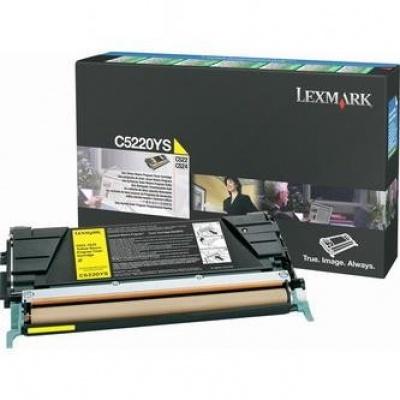 Lexmark C5220YS yellow original toner