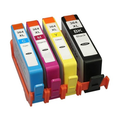 HP 364XL SD534E Bk+C+M+Y multipack compatible inkjet cartridge
