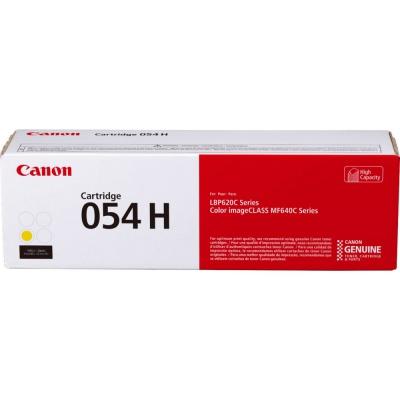 Canon CRG-054H yellow original toner