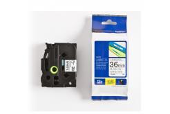 Brother TZ-261 / TZe-261, 36mm x 8m, black text / white tape, original tape