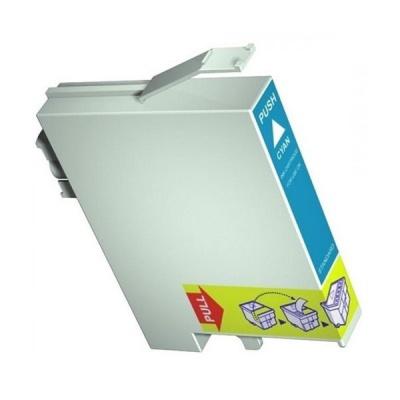 Epson T0712 cyan compatible inkjet cartridge