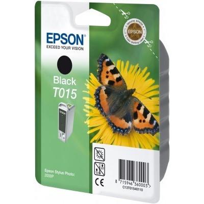 Epson C13T015401 black original ink cartridge