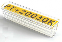 Partex PT+30021A návlečka 21 mm, 50 pcs (8,0-16,0 mm), PT průsvitné pouzdro na štítky