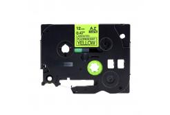 Brother TZ-C31/TZe-C31, signální 12mm x 8m, black / yellow, compatible tape