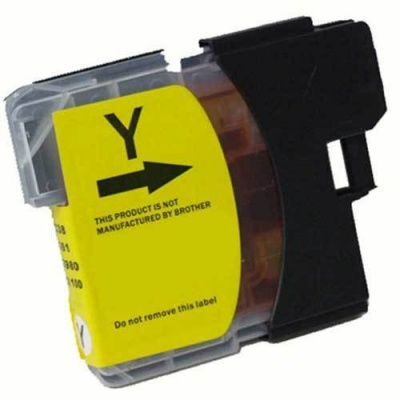 Brother LC-525XL yellow compatible inkjet cartridge