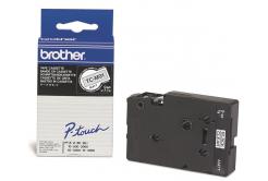 Brother original tape do tiskárny štítků, Brother, TC-M91, black text/clear tape, laminovaná, 7,7m, 9mm