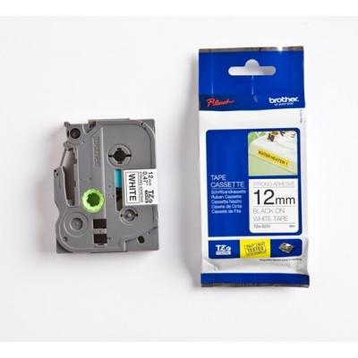 Brother TZ-S231 / TZe-S231, 12mm x 8m, black text/white tape, original tape