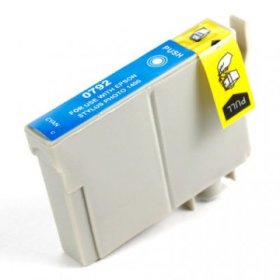 Epson T0792 cyan compatible inkjet cartridge