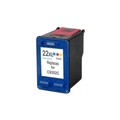 HP 22XL C9352A color compatible inkjet cartridge