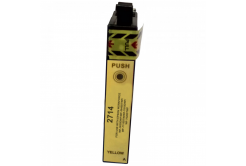 Epson 27X T2714 yellow compatible inkjet cartridge