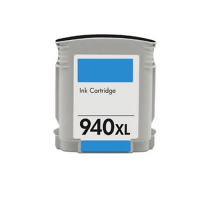 HP 940XL C4907A cyan compatible inkjet cartridge