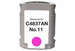 HP 11 C4837A magenta compatible inkjet cartridge