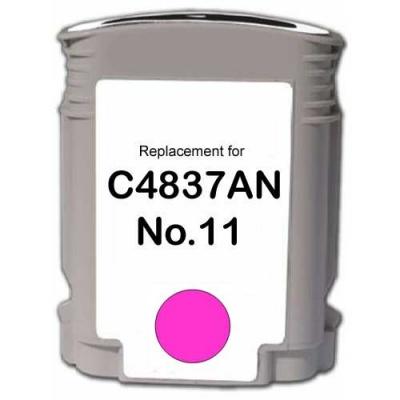 HP 11 C4837A magenta compatible inkjet cartridge