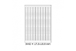 Selfadhesive labels 17,8 x 10 mm, 270 labels, A4, 100 sheets