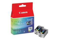 Canon BCI-16C, 9818A020, 9818A002 color original ink cartridge