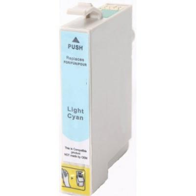 Epson T0485 light cyan compatible inkjet cartridge
