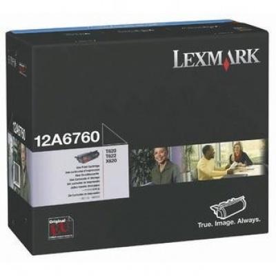 Lexmark 12A6760 black original toner