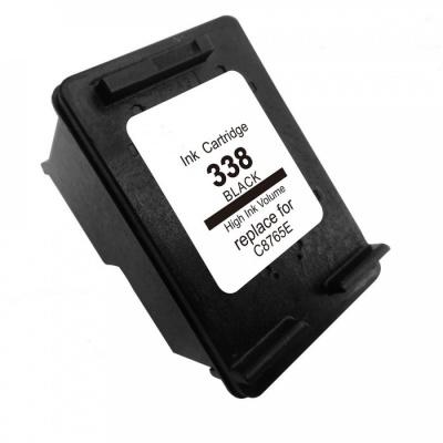 HP 338 C8765E black compatible inkjet cartridge
