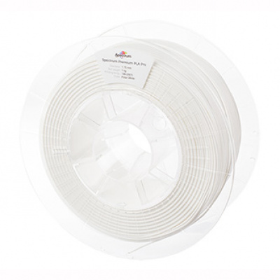 Spectrum 3D filament, PLA Pro, 1,75mm, 1000g, 80102, polar white