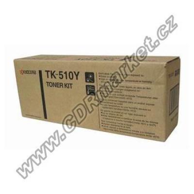 Kyocera Mita TK-510Y yellow original toner