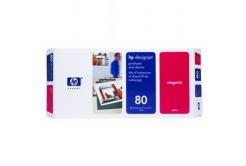 HP 80 C4822A magenta original print head
