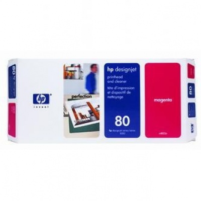HP 80 C4822A magenta original print head