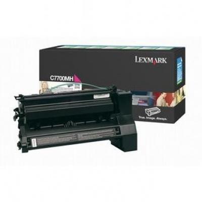 Lexmark C7700MH magenta original toner