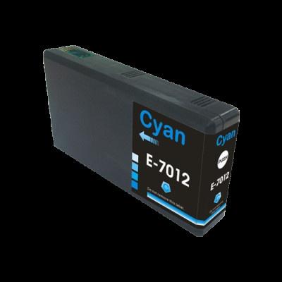 Epson T7012 cyan compatible inkjet cartridge
