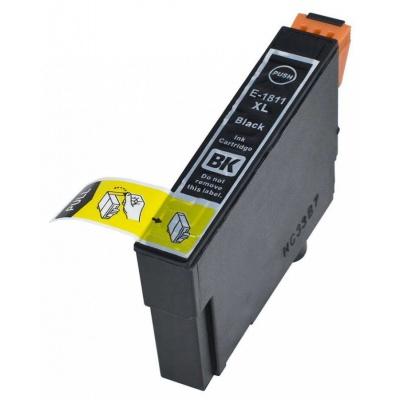 Epson T1811 XL black compatible inkjet cartridge