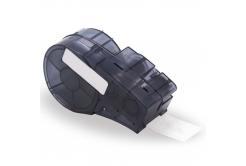 Brady M21-500-595-WT / 142807, vinyl, 12.70 mm x 6.40 m, černý tisk / bílý podklad, kompatibilní páska