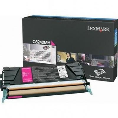 Lexmark C5242MH magenta original toner