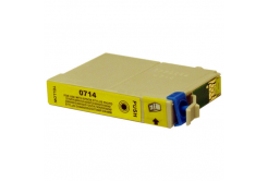 Epson T0714 yellow compatible inkjet cartridge