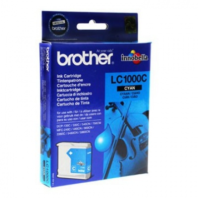 Brother LC-1000C cyan original ink cartridge