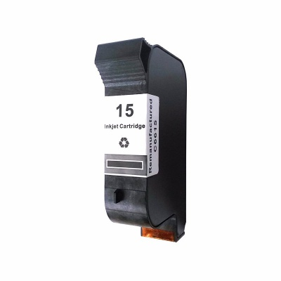 HP 15 C6615D black compatible inkjet cartridge