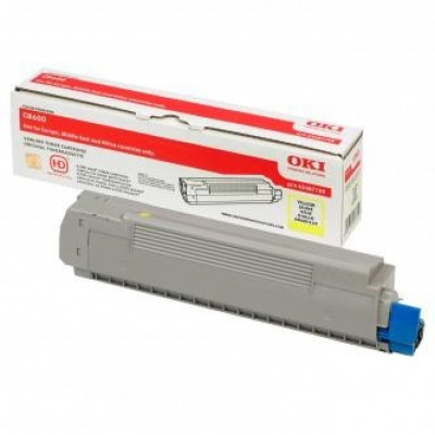 OKI 43487709 yellow original toner