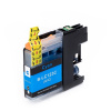 Brother LC-123 cyan compatible inkjet cartridge