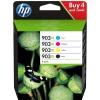 HP original ink cartridge multipack 3HZ51AE, HP 903XL, CMYK, 825 pages, HP