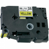 Brother TZ-FX641/TZe-FX641 18mm x 8m, flexi, black / yellow, compatible tape