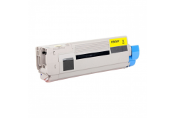 OKI 43872305 for C5650, C5750 yellow compatible toner