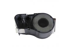 Brady M21-750-595-WT / 142797, vinyl, 19.05 mm x 6.40 m, černý tisk / bílý podklad, kompatibilní páska