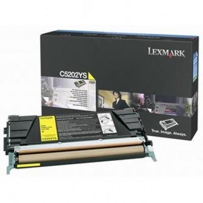 Lexmark C5202YS yellow original toner