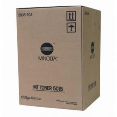 Konica Minolta MT501B black original toner