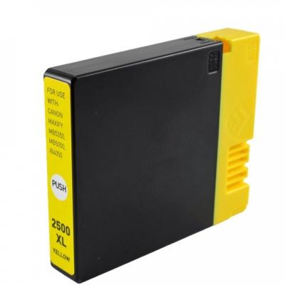 Canon PGI-2500XL yellow compatible inkjet cartridge