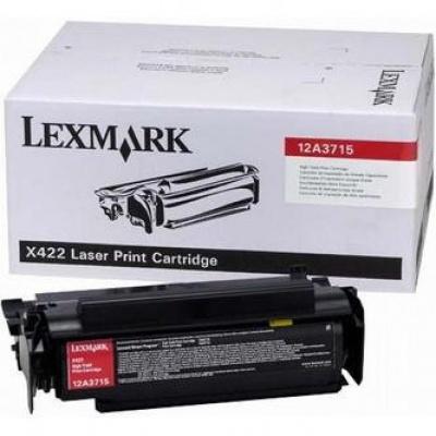 Lexmark 12A3715 black original toner