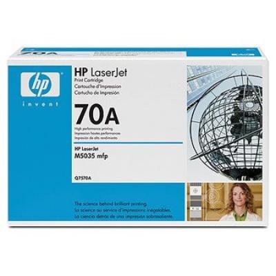 HP 70A Q7570A black original toner