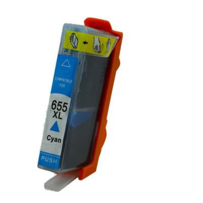 HP 655XL CZ110A cyan compatible inkjet cartridge